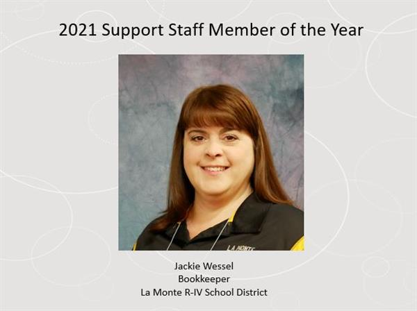 2021 Support Staff Member