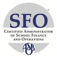 ASBO International Certified Administrator of School Finance and Operations (SFO)