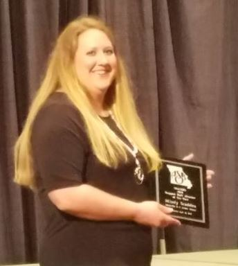 Maryville R-II School District Accountant is Named Support Staff Member of the Year